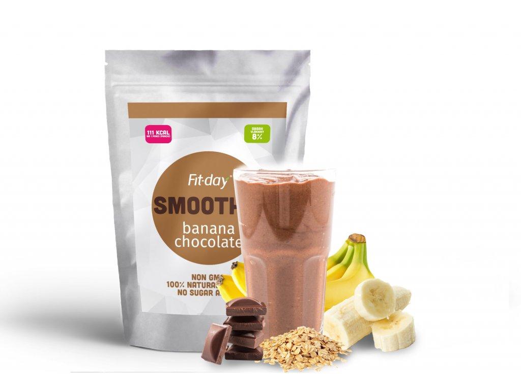 Fit-day smoothie banán-čokoláda 90g