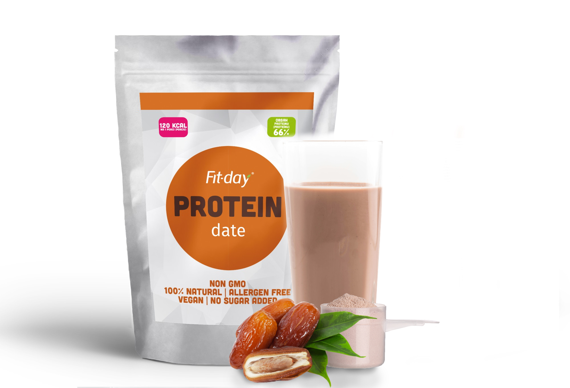 Fit-day Protein natural 90g